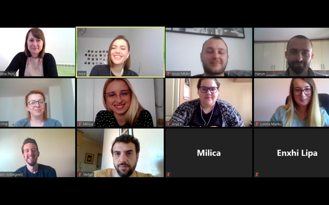 KOMS: Održan online sastanak regionalnih krovnih saveza mladih