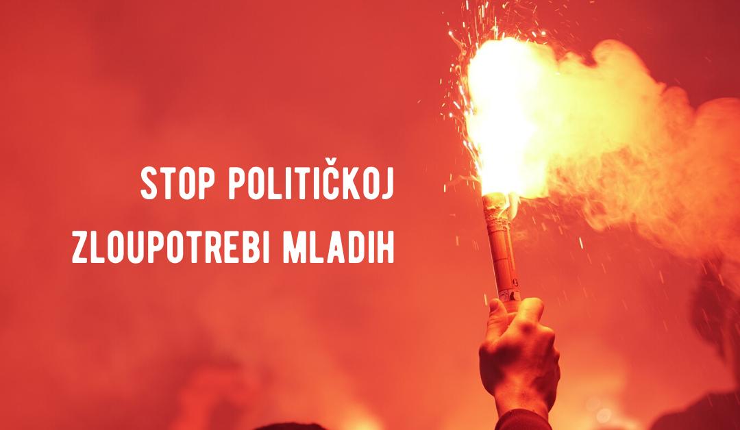 KOMS: Stop političkoj zloupotrebi udruženja mladih