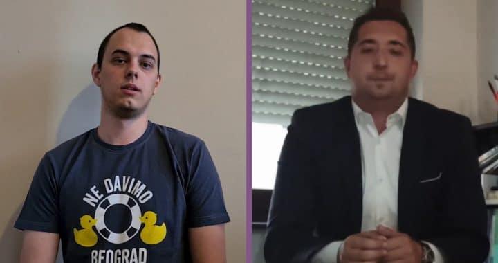 DA LI MLADI TREBA DA IZAĐU NA PREDSTOJEĆE IZBORE? – M. Budimir (NDMBG) i J. Vlaški (SNS)