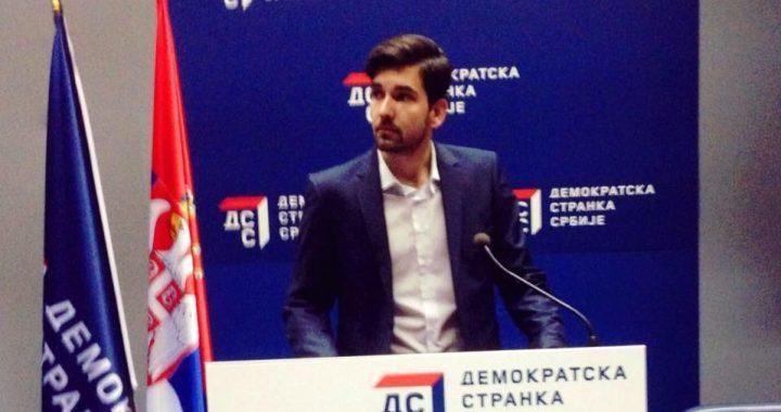 """""""Znanje imamo, iskustvo stičemo, a straha nemamo"""" – novi predsednik omladine DSS o daljim koracima"""