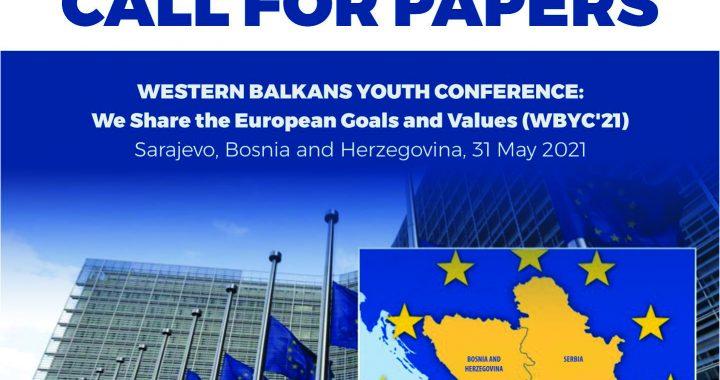 Western Balkans Youth Conference – Poziv mladima za dostavljanje radova