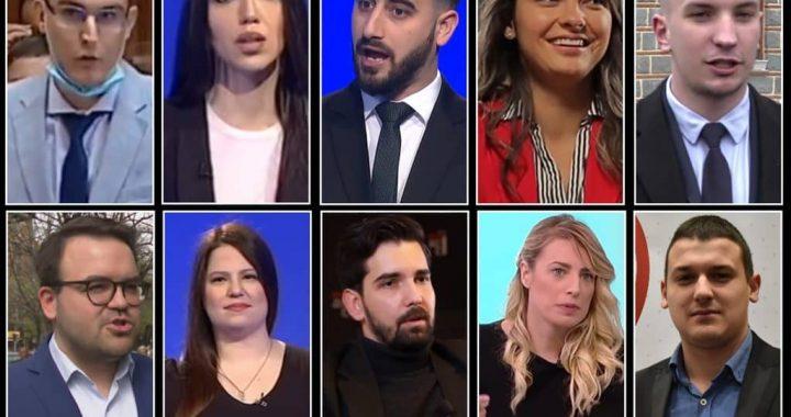 SNS vs opozicija među mladima: 5 mladih opozicionara protiv 5 naprednjaka